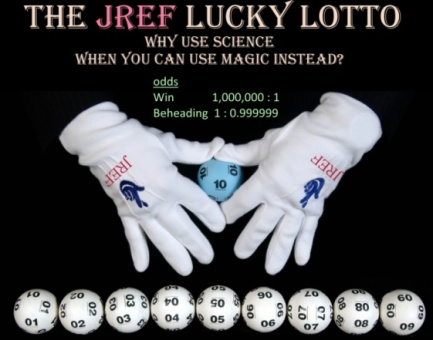 JREF challenge is a beheading lottery
