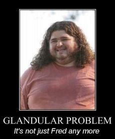 glandular problem