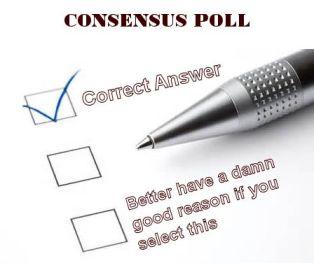 scientific consensus survey