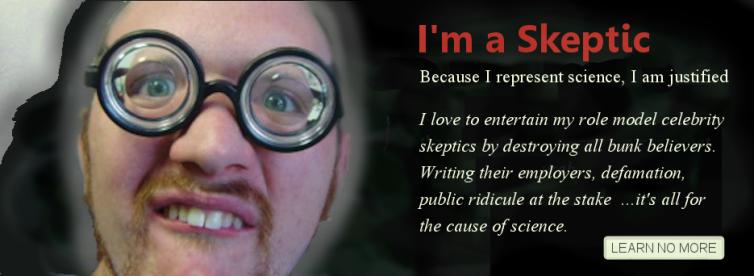 I'm a Skeptic Karfunkle evil activity