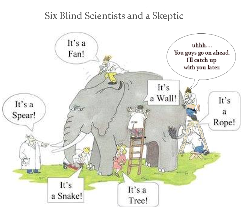 science skeptic blind six need scientists knowledge ethical don
