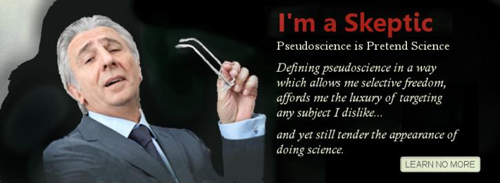 misdefinition of pseudoscience - Copy