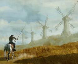 Why do we celebrate don quixote