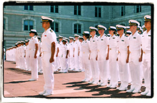 midshipman K Archer plebe summer