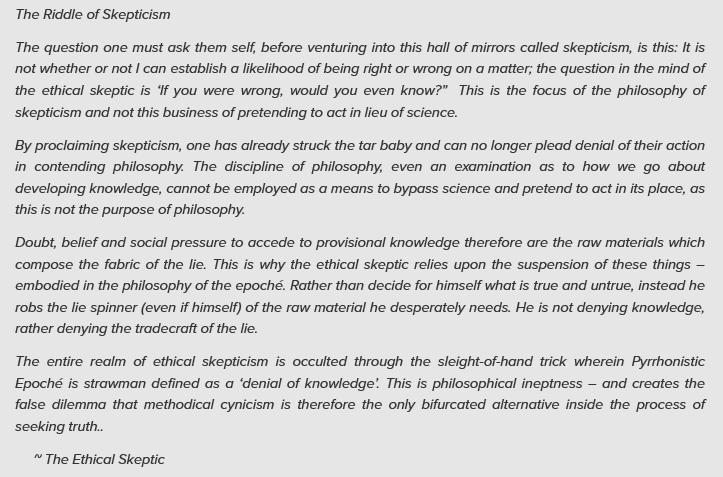 Define moral skepticism